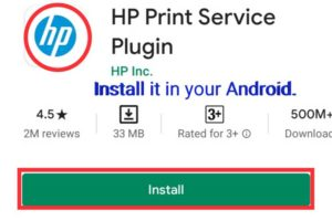 How to print from mobile to hp printer without wifi