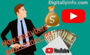 How youtubers earn money