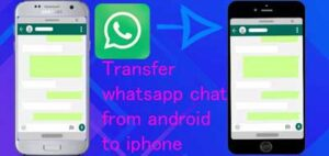 How to restore whatsapp backup from android to iphone