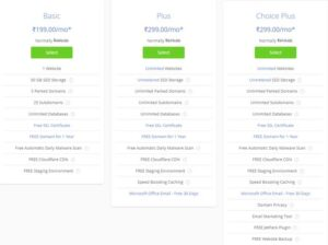 Bluehost - Hosting recommended by the wordpress