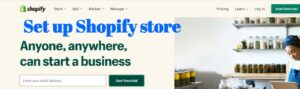 How to set up shopify store step by step