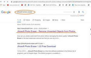 Install jihosoft watermark remover software