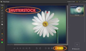 How to remove logo from photos