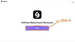 Install hitpaw watermark remove software