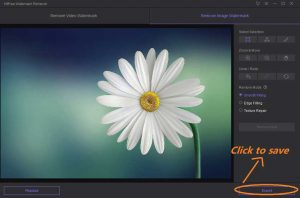 How to remove watermark from images